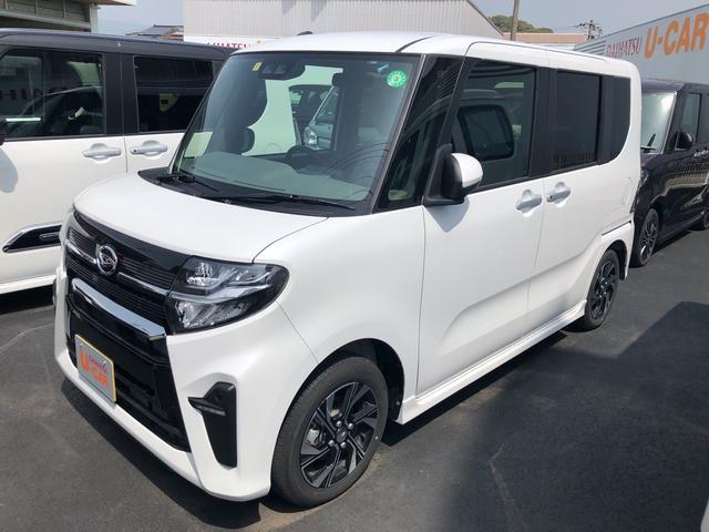 タントカスタムX 両側パワースライドドア次世代スマートアシスト搭載 エアコン パワステ パワーウインド エアバック ABS キーフリー アルミホイール 電動ドアミラー(熊本県)の中古車